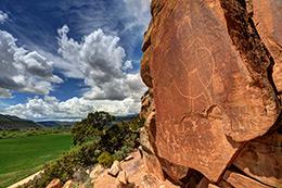 McConkie Ranch Petroglyph - Utah
