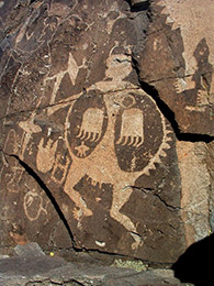Comanche Gap Petroglyph / Jerry Willis