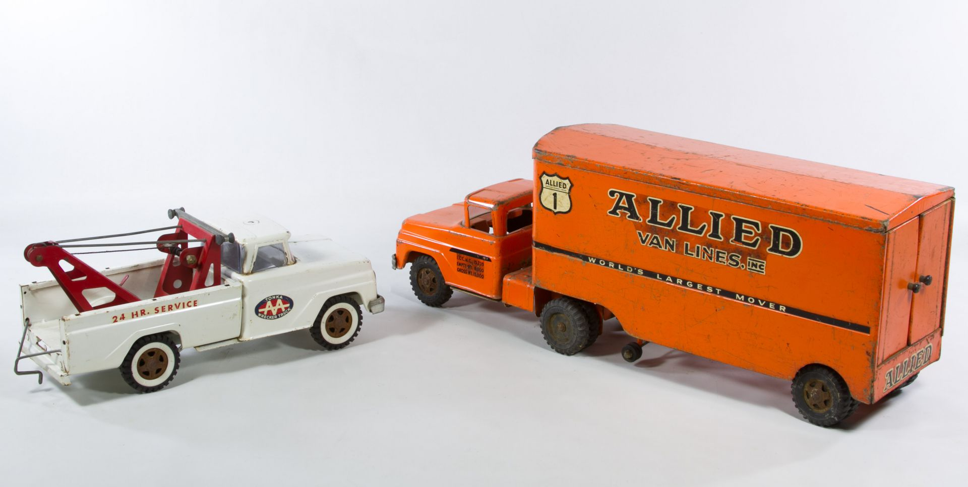 Toy Moving Truck Lot 659 Allied Van Lines Toy Moving Truck Leonard