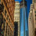 Freedom Tower HDR Photo Taken on Fulton Street Between Broadway and Nassau - Dayton Photographer Alex Sablan
