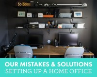 Photographer Home Office Tips