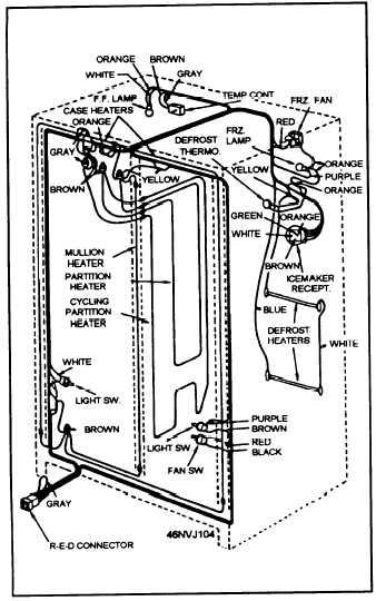 Whirlpool Refrigerator Wiring Diagram Model Gd5phaxms11 whirlpool