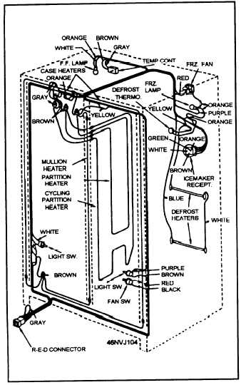 wiring diagram for electric components