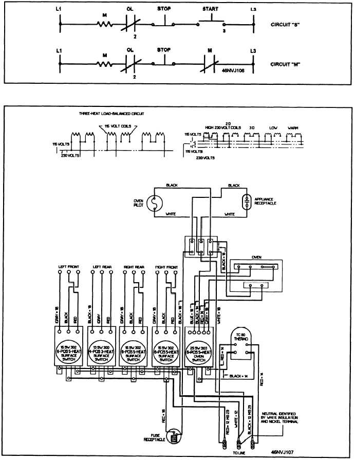 Kenmore Range Wiring Diagram Switch Figure Aii 5 Schematic Diagram Of An Electric Range
