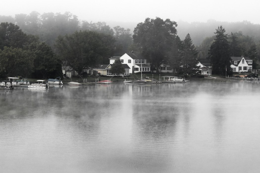 Foggy Morning by Debra Pruskowski