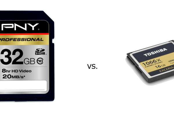 sd vs cf card