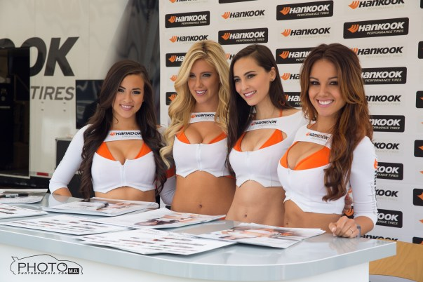 Always a pleasure seeing the Hankook girls. Left to Right (Erica Nagashima, Jessica Harbour, Sadie May, and Katelynn Ansari.