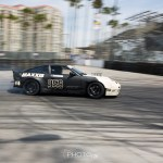 Not sure if he had something go wrong but this Rocket Bunny 240 cruised in on the last turn.