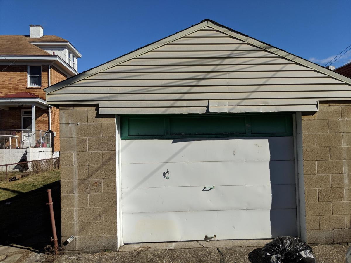 Garage For Rent Easton Pa 707 Woodward Avenue Rear Garage