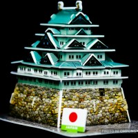 Edo Castle of Japan... In Macro!
