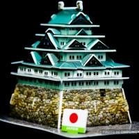 Edo Castle of Japan... In Macro!