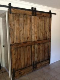 Rustic barn doors photos