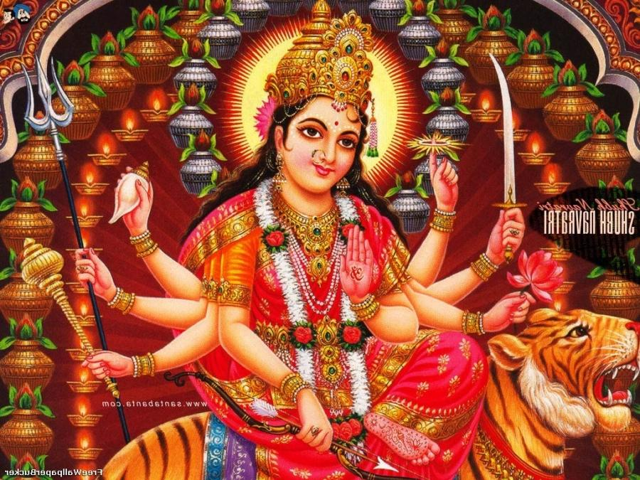 Jai Mata Di Hd Wallpaper Durga Mata Photos Wallpaper