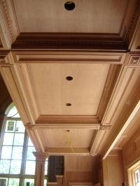 Wood coffered ceiling photos