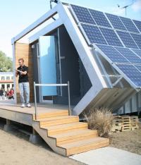 Solar house photos