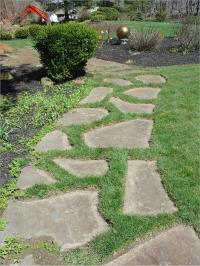 Stepping stones walkways photos