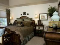 Decorated master bedroom photos