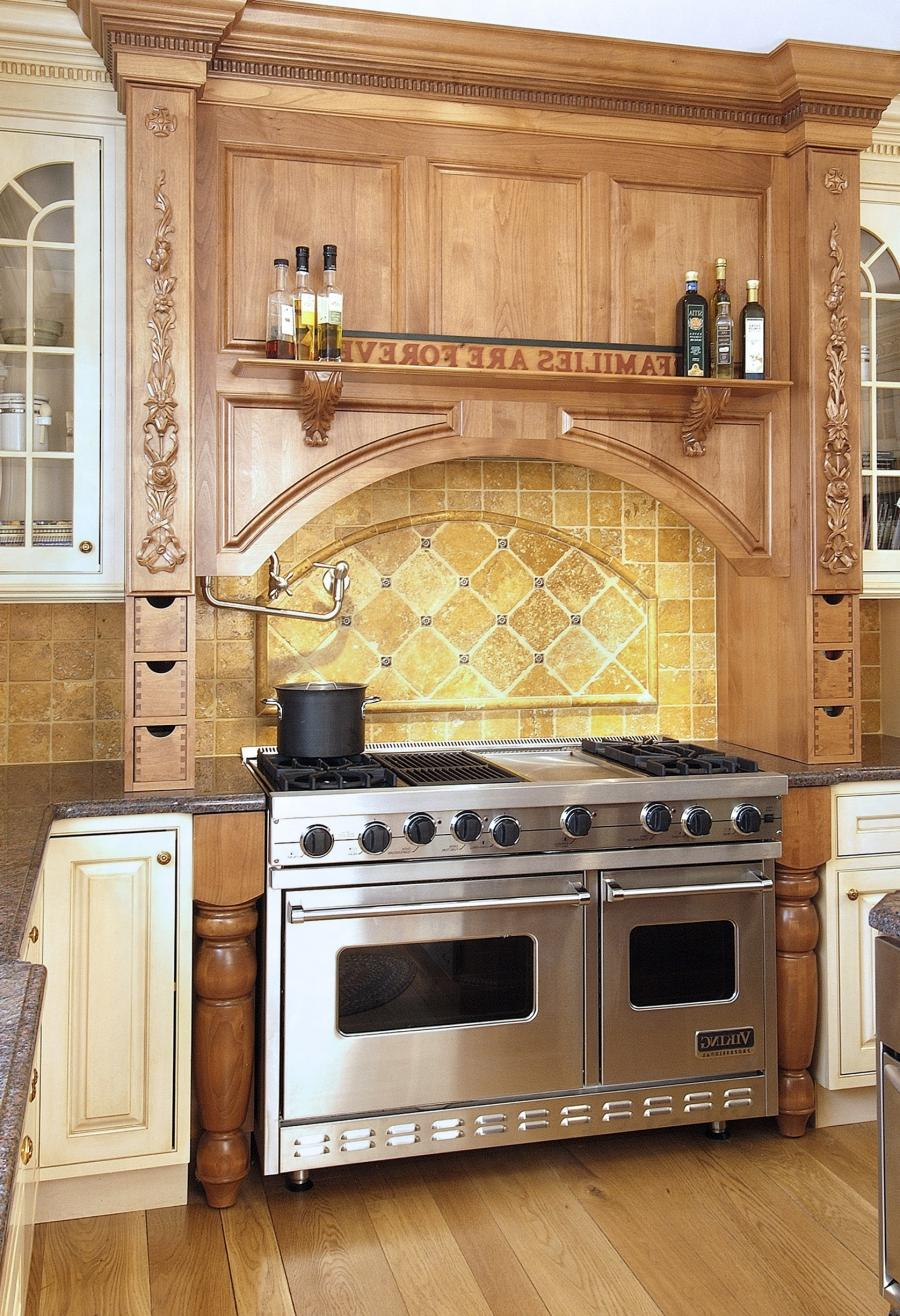 Range Cd Mural Kitchen Over The Stove Photo Backsplash