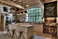 Tuscan farmhouse kitchen photos