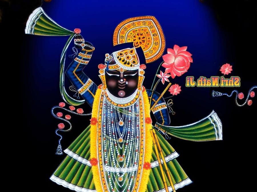 3d God Krishna Wallpaper Download Shrinathji Wallpaper Photos