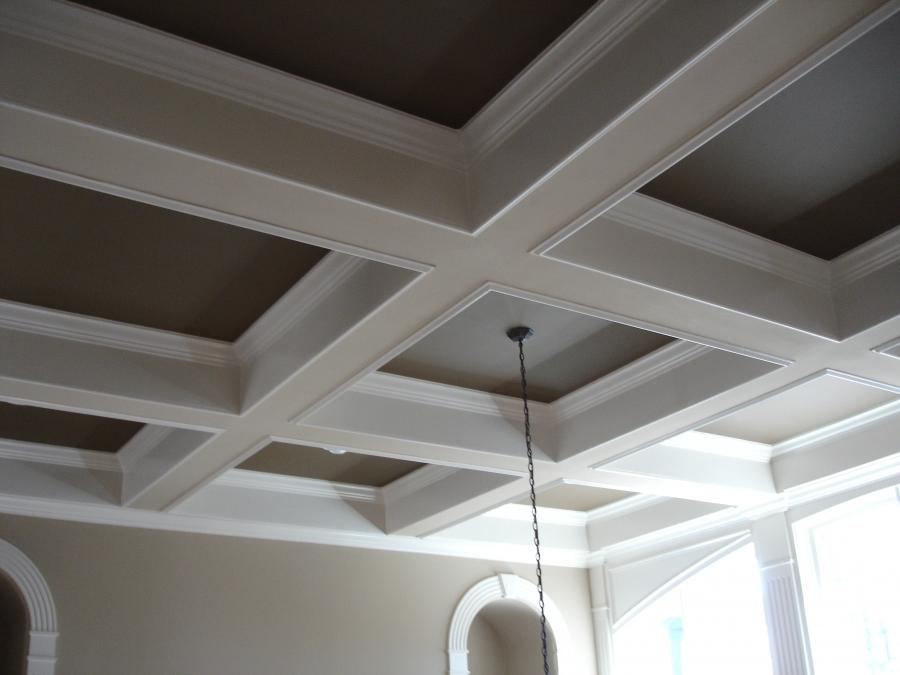 Coffin ceiling photo