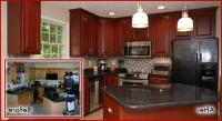 Refacing kitchen cabinets before and after photos