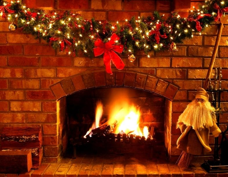 Snow Falling At Night Wallpaper Snow Photos Fireplace
