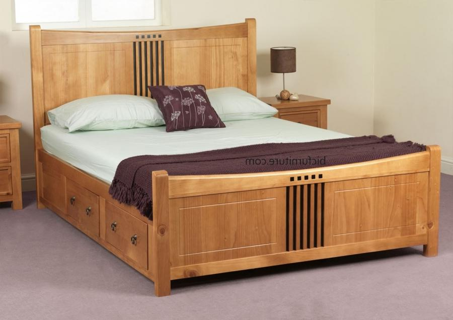 Buy Teak Wood Bed Online India Indian Double Bed Photos