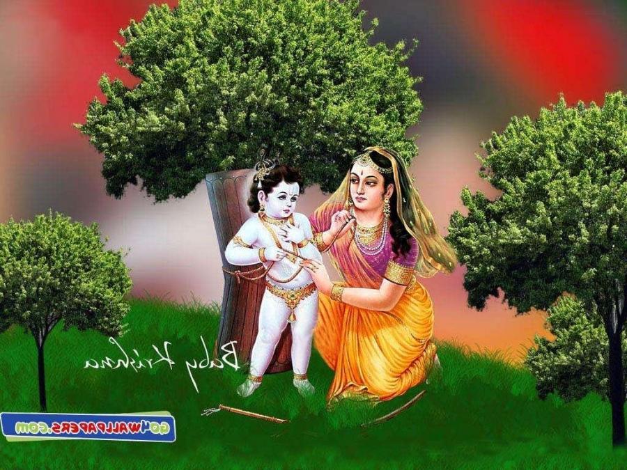 Cute Lord Krishna Hd Wallpaper Baby Krishna Photos Wallpapers