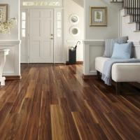 Photos of rooms with laminate flooring