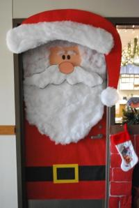 Christmas door decorating contest ideas photos