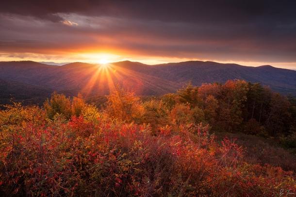 Kentucky Fall Wallpaper Beautiful Fall Morning In North Georgia Usa By Ben Thomas