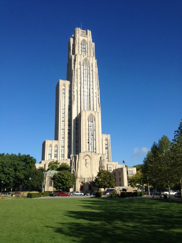 At 535 feet tall, the University of Pittsburghu0027s Cathedral of - resume for on campus jobs
