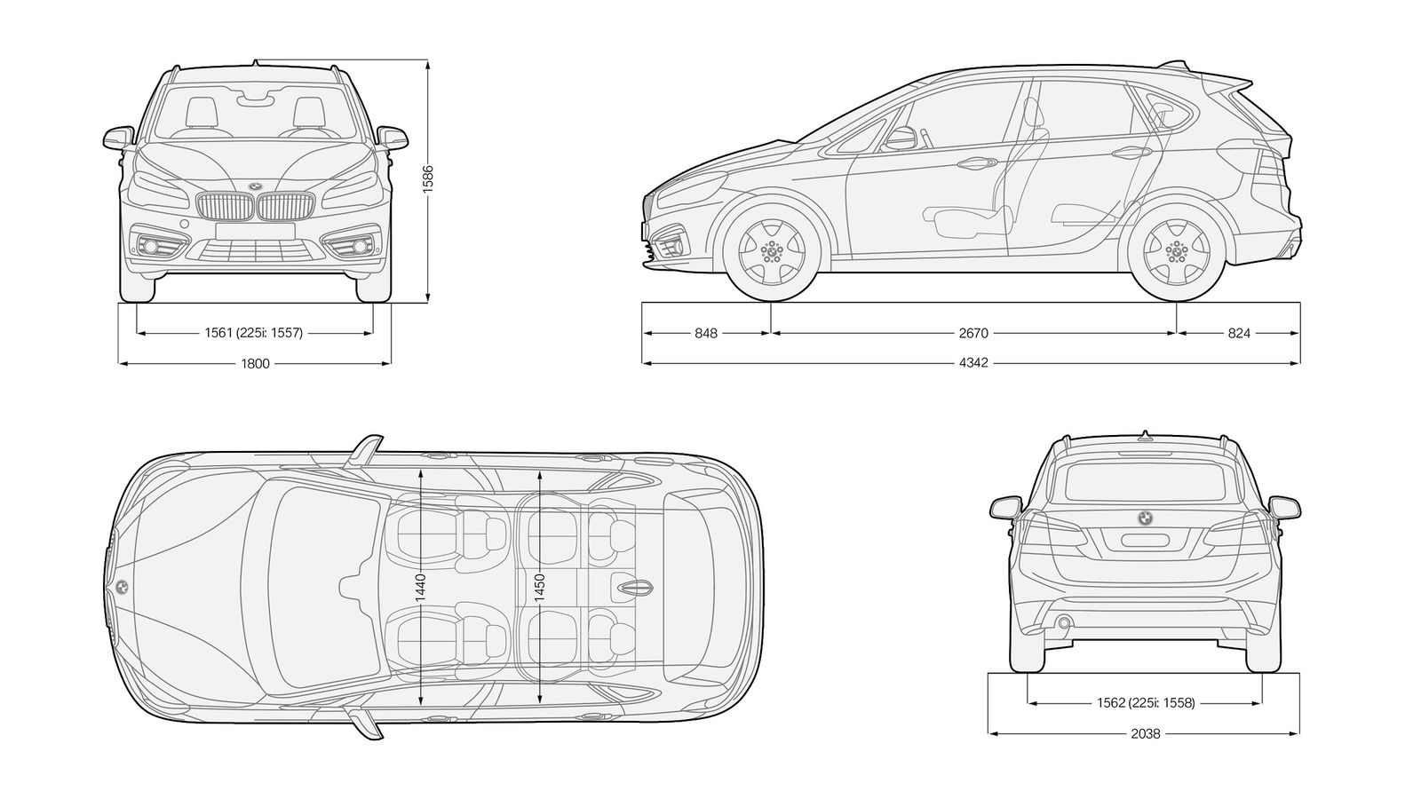 Bmw 2 Series Length Ford Fiesta Interior Dimensions Indiepedia Org