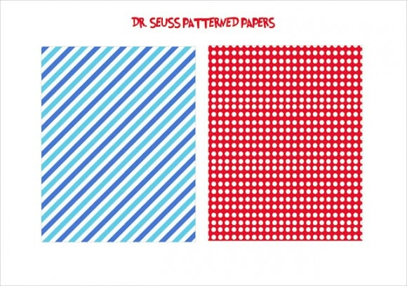 FREE Dr Seuss Party Printables from Wanessa Carolina Creations