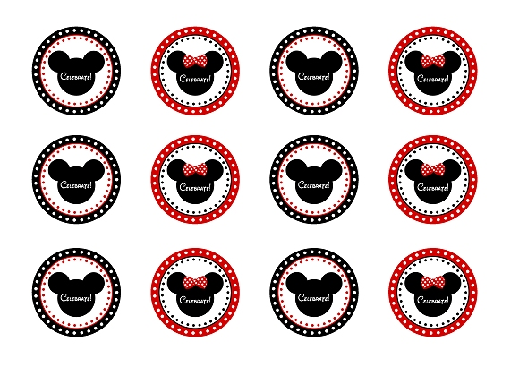 FREE Mickey  Minnie Mouse Birthday Party Printables from - free printable mickey mouse