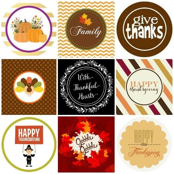 Free Thanksgiving Printable Decorations Catch My Party