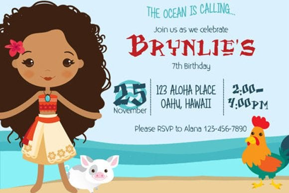 13 Must-See Disney Moana Birthday Party Ideas Catch My Party
