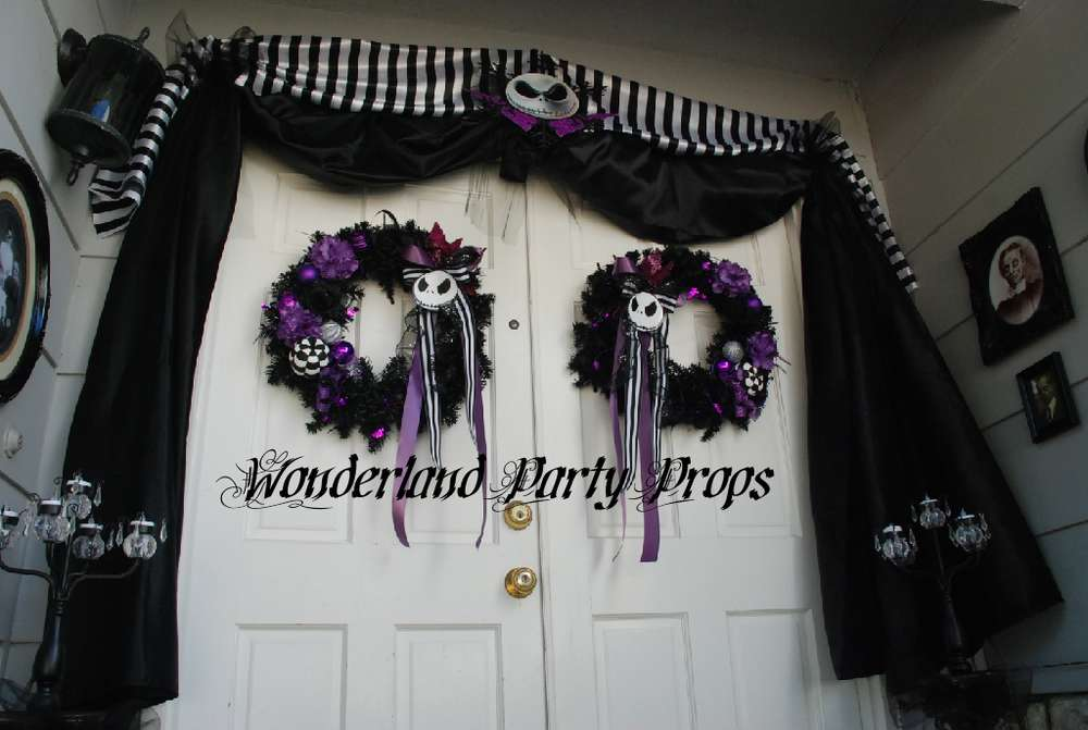 Nightmare Before Christmas Halloween Party Ideas Photo 2 of 6 - nightmare before christmas baby shower decorations