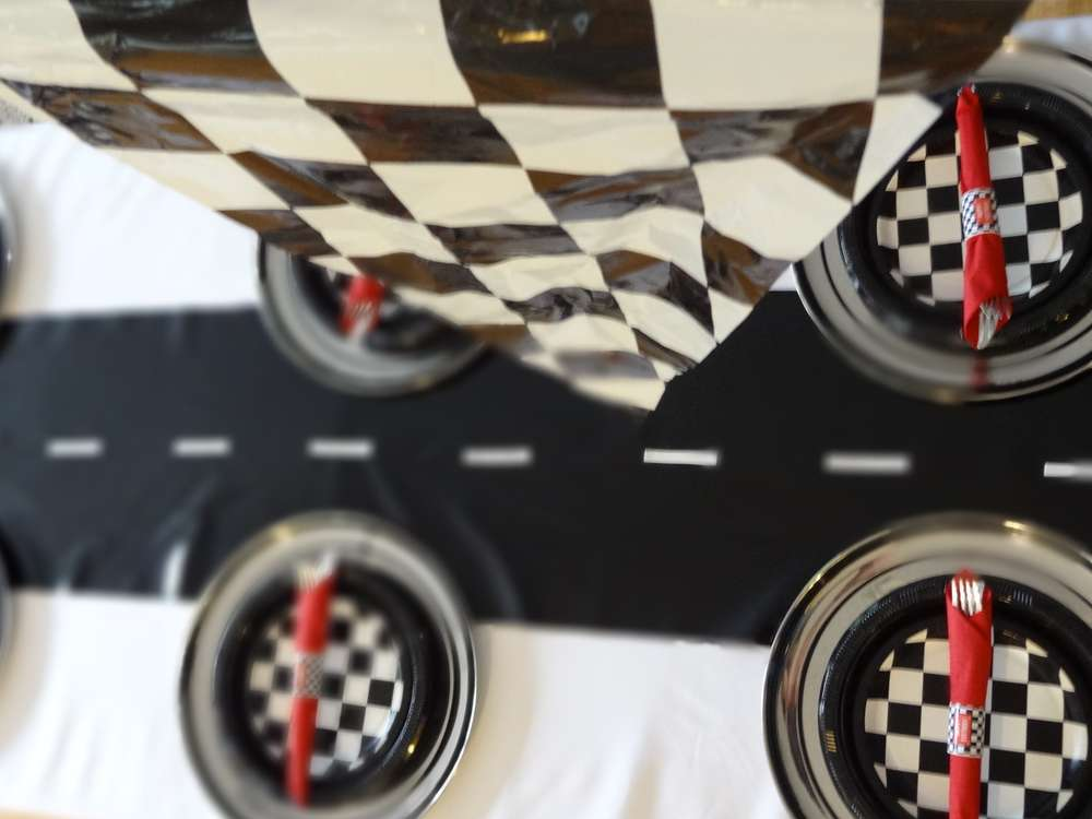 Race Cars Birthday Party Ideas Photo 3 Of 21 Catch My