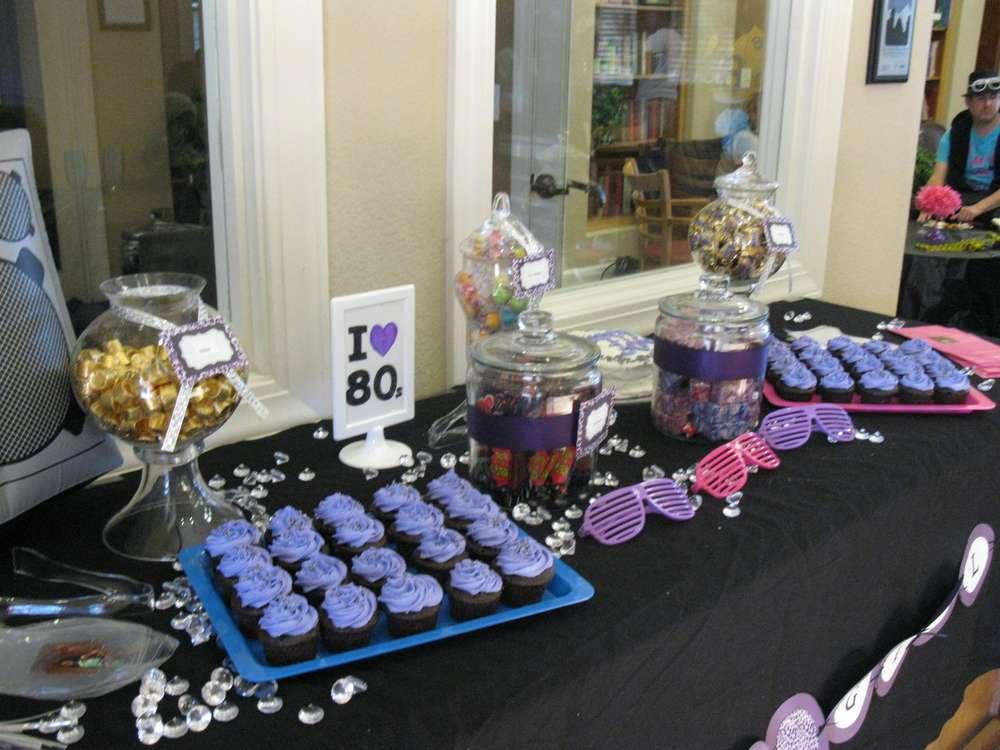 Hip Hop R And B 80s Party Birthday Party Ideas Photo 6