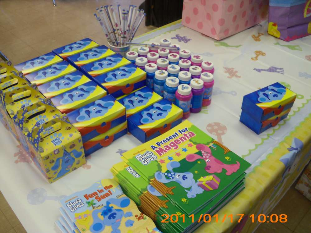 Blues Clues Birthday Party Ideas Photo 5 Of 13 Catch