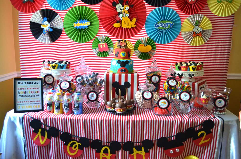 Mickey Mouse Clubhouse Birthday Party Ideas Photo 10 of 36 Catch - mickey mouse boy birthday party ideas