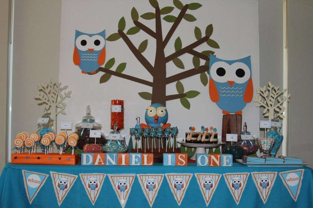 Hoot Birthday Party Ideas Photo 5 Of 8 Catch My Party