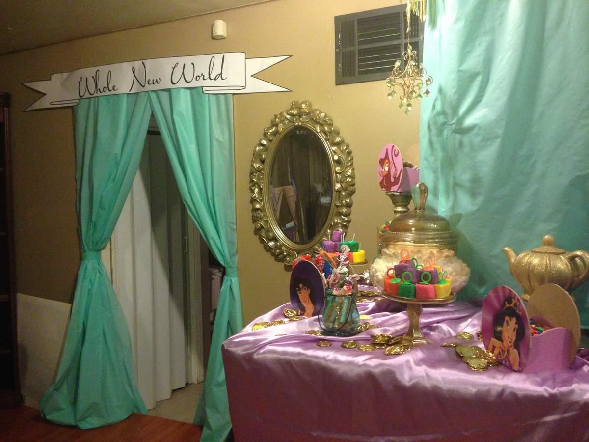 Princess Jasmine Birthday Party Ideas Photo 2 of 24 Catch My Party