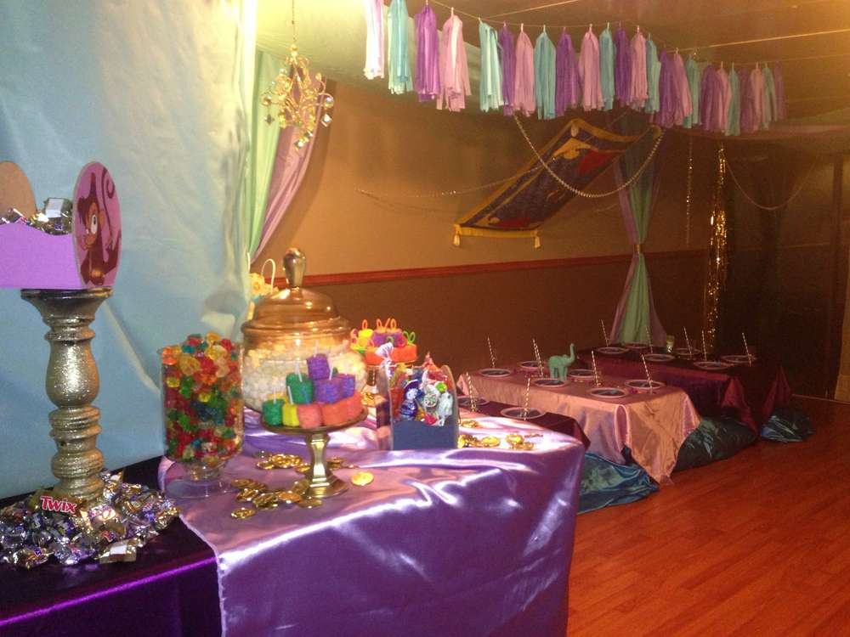 Princess Jasmine Birthday Party Ideas Photo 3 of 24 Catch My Party