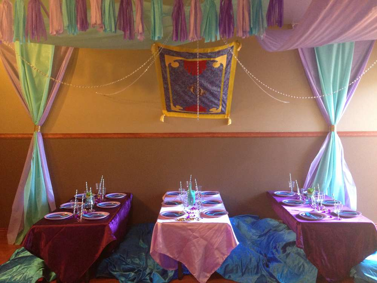 Princess Jasmine Birthday Party Ideas Photo 1 of 24 Catch My Party
