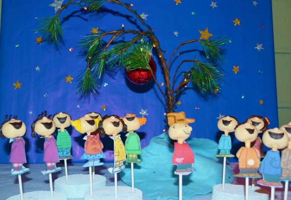Charlie Brown Christmas Christmas\/Holiday Party Ideas Photo 1 of - charlie brown christmas decorations