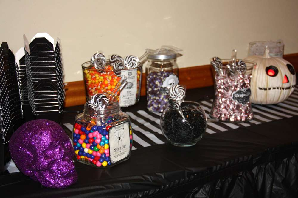 Nightmare Before Christmas Birthday Party Ideas Photo 7 of 25 - nightmare before christmas baby shower decorations