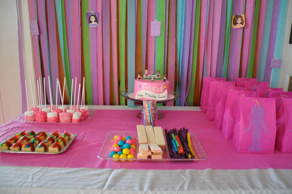 Lego Friends Birthday Party Ideas Photo 9 of 17 Catch My Party